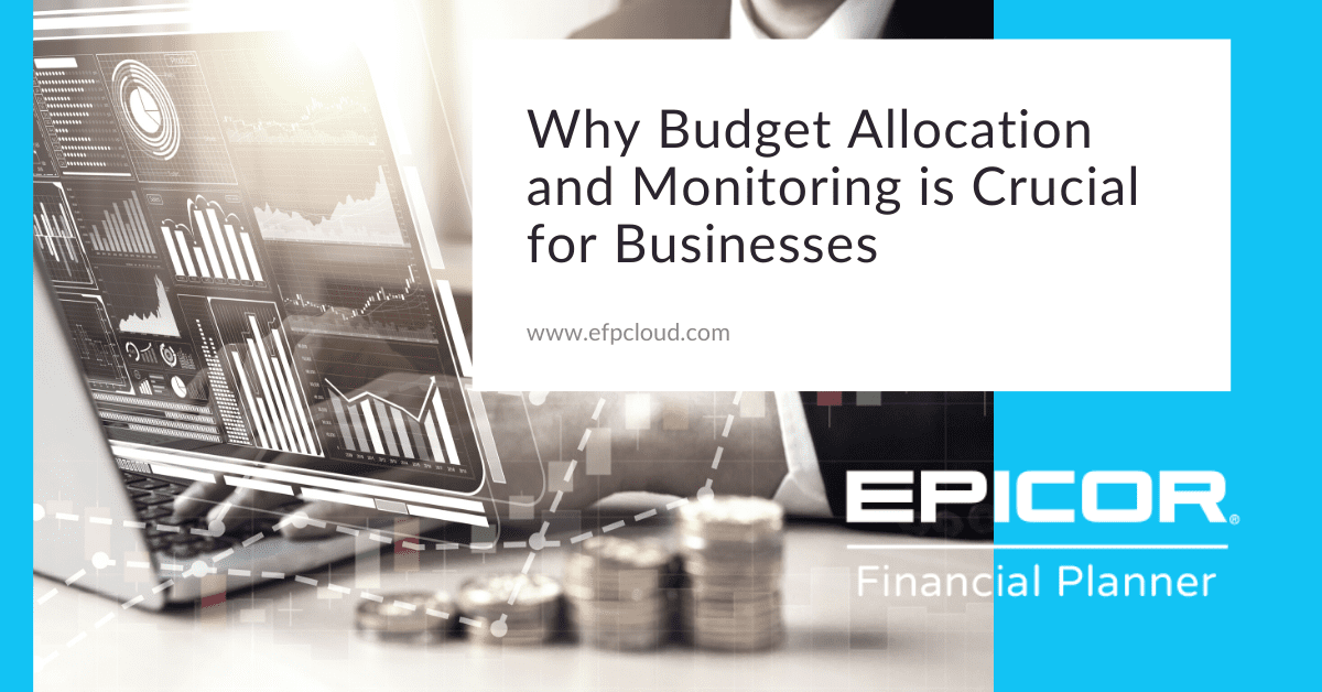 Why Budget Allocation and Monitoring is Crucial for Businesses